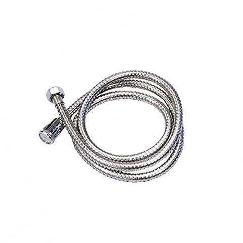 COM-FOUR ® Stainless Steel Shower Hose Shower Hose Chrome