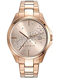 Esprit - ES108432003 - Montre Femme - Quartz - Analogique - Bracelet Acier Inoxydable Or et Rose