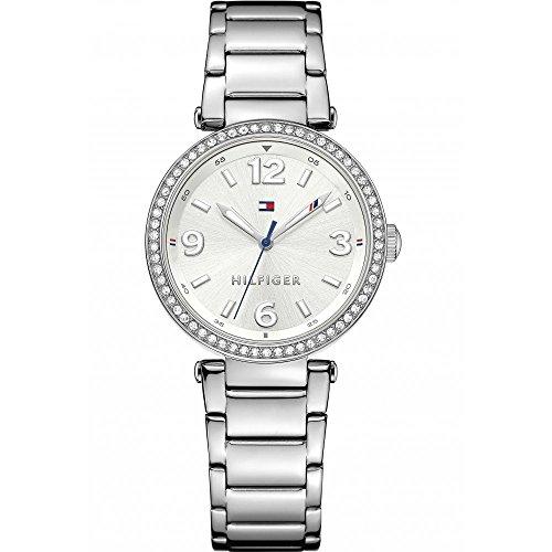 Tommy Hilfiger mujer-reloj analógico de cuarzo de acero inoxidable 1781589