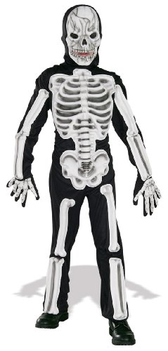Rubie's 2883821M EVA Skeleton, Kostüm für Kinder, - Skelett Kinder Kostüme