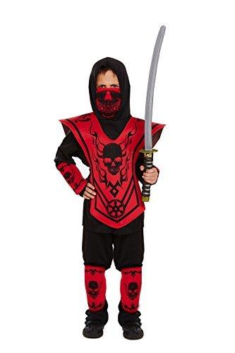 Kinder Ninja Kostüm Kostüm 4 - 6 (Kostüme Kind Ninja Blue)