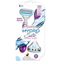 Wilkinson - Hydro Silk - Rasoirs jetables féminins - Pack de 3