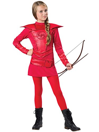 97bf23c96a0 InCharacter Costumes Red Warrior Huntress Costume, One Color, Large