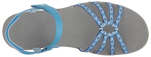 Teva Kayenta Ws, Sandales de Randonnée Femme Bleu (Carmelita Blue)