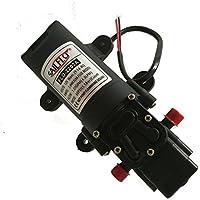 SAILFLO Bombas de presión de agua 12V DC Water Pressure Diaphragm Pump Pressure Pump for Caravan/RV/Boat/Marine ((80PSI/1.1GPM)/2202A)