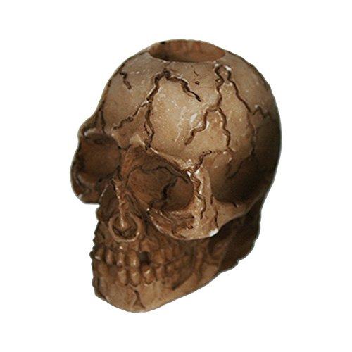 Preis am Stiel Halloween Gluttöter Skull- Risse | Party Zubehör | Geister | Skelett | Halloween Accessoires | Gespenst | Zombies | Grusel Deko | Party Ausstattung | Totenkopf Deko | Hänge Deko