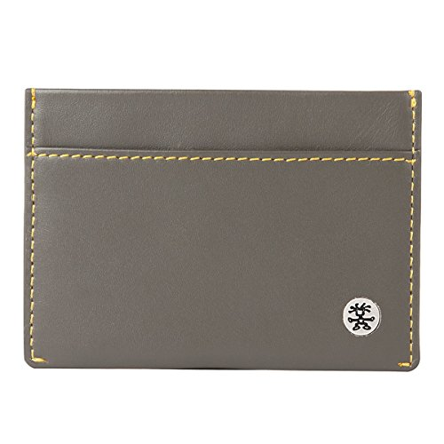 Crumpler Trust - business card holders Grey, Yellow