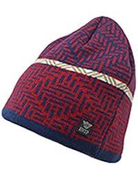 Feiboy Al Aire Libre Cálido Crochet de Hats Plegable Clásico Hombres Gorros  De Punto Casual Lavable e2d9c0bc305