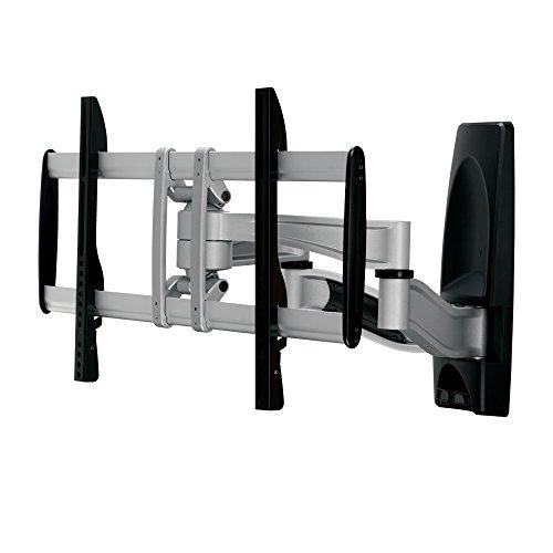 """PureMounts PLATINUM-65 Wandhalterung für TV Geräte mit 81-165cm (32-65""""), VESA: 600x400, neigbar: +/-15°, schwenkbar: +/-60°, Wandabstand: 105-550mm, Traglast max:  50kg, schwarz"""