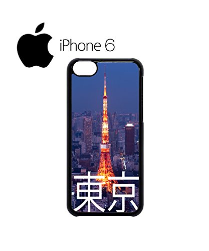 Tokyo City Night Swag Mobile Phone Case Back Cover Hülle Weiß Schwarz for iPhone 6 White Schwarz