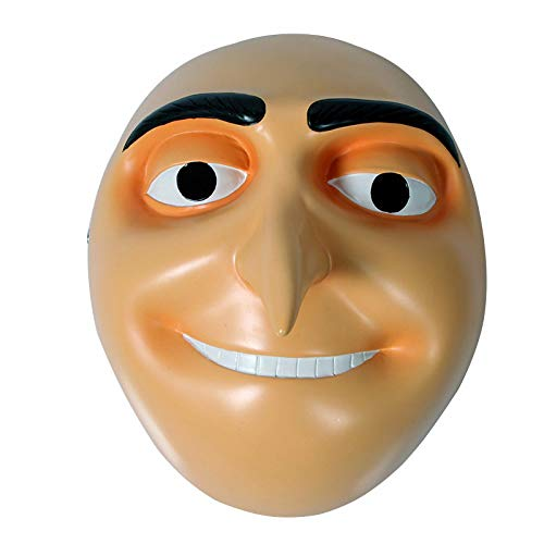 XFF Halloween Maske/Film Thema Maske Despicable Dad Despicable Me Despicable Dad Maske,Gelb,cm (Me Brille Despicable)