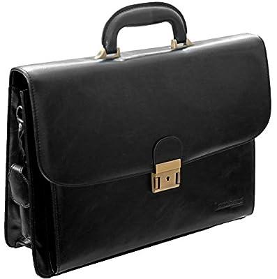 Sacoche porte-documents - à rabat/style business - faux cuir