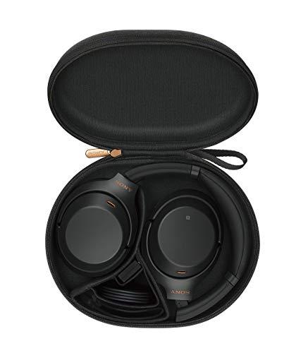 Sony WH-1000XM3 Bluetooth Noise Cancelling Kopfhörer (30h Akkulaufzeit, Touch Sensor, Headphones Connect App, Schnellladefunktion) schwarz - 17
