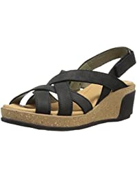 El Naturalista Damen N5002 Pleasant Leaves Open Toe Sandalen