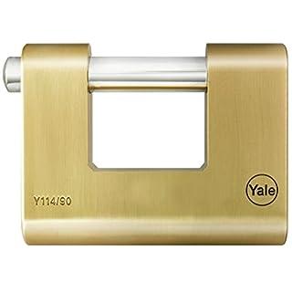 yale-azbe–Padlock 90MM ARC 13mm Brass