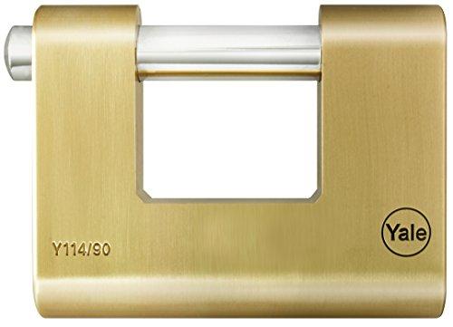 Yale Y114/90/127/1 Candado de Seguridad, 90 mm