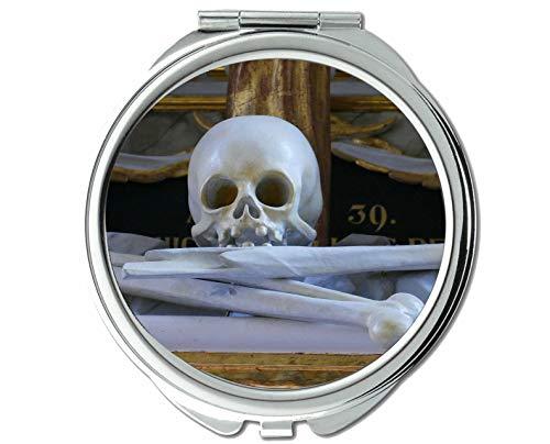 Yanteng Spiegel, Kleiner Spiegel, Toter Hauptaltar der Kirche, Taschenspiegel, 1 X 70X Vergrößerung