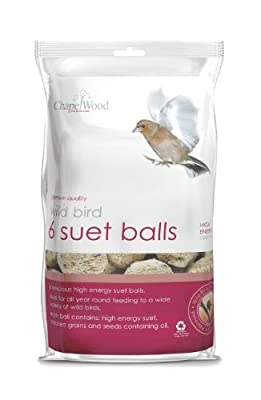 Chapelwood Small Bird Suet Balls (Pack of 6) from Chapelwood