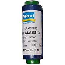 Spago cerato - spessore 1mm -100 mt - colore 16 Royal Blue