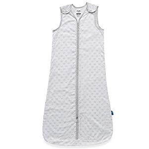 Parental Instinct – Saco de dormir para bebé (0,5 tog, resistente a los mosquitos), color blanco rosa rosa Talla:0-6 meses