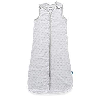 Parental Instinct–Bolsa de saco de dormir de repelente de mosquitos 0.5Tog blanco White/Grey Talla:0-6 meses