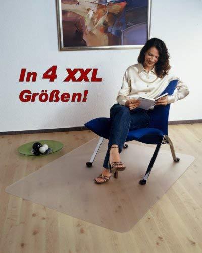 Beste Kork-bodenbelag (Floordirekt PRO XXL Bodenschutzmatte - 190x300 cm - für Hartböden - 100% Polycarbonat)