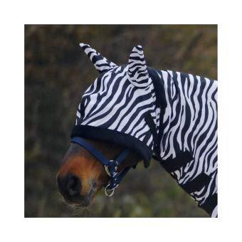 Waldhausen Fliegenmaske Zebra, Pony, schwarz/weiß, Pony