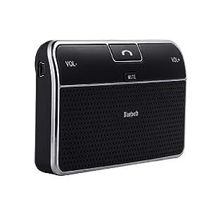 Patuoxun Bluetooth 4.0 Car Kit Vivavoce Ricevitore Musica della Clip per Cellulari, IPhone, Computer Portatile, Tablet o MP3, ecc.