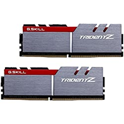 G.Skill 16GB DDR4 16GB DDR4 3200MHz memory module - memory modules (DDR4, PC/server, 2 x 8 GB, Grey, Black, Red)