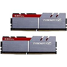 G.Skill 16GB DDR4 16GB DDR4 3200MHz módulo de - Memoria (DDR4, PC/server, 2 x 8 GB, Gris, Negro, Rojo)
