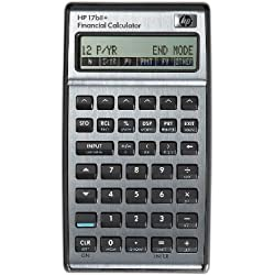 HP (Hewlett Packard) calculatrice financière (HP 17bll+)