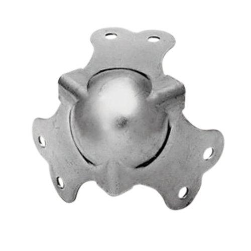 4x65 mm Zink Kugelecken mit Befestigungsschrauben