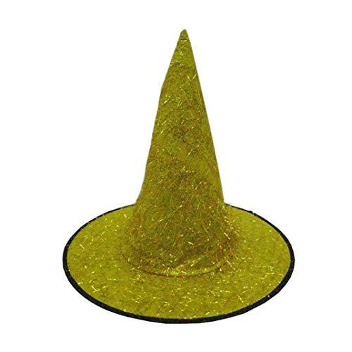 FORH Kappe Kopfbedeckung Schwarzer Hexenhut für Damen Halloween Horror Party schwarz Hexe Hut Männer Halloween Hut Kostüm Zusatz Feste Kappe fürHalloween Kostüm Party