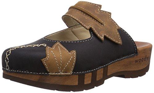 Woody Rebekka , Chaussures femme Noir - Noir