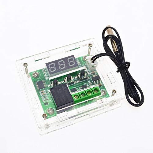 Thermometer-abdeckungen (2017 echt heißer verkauf w1209 gehäuse transparent acryl box klare abdeckung thermometer thermo controller (nicht enthalten w1209))