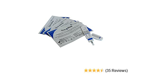 5 x Single Drug Testing Kits for Cocaine - Crack - COC - Urine Tests