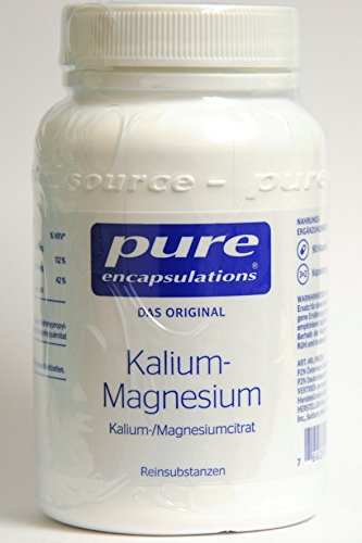 potassium-magnésium (Citrate de) 180 Gélules pure encapsulations