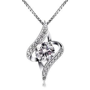 B.Catcher donne collana in argento con pendente in zircone 3 spesavip