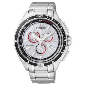 Citizen AT0956-50A Men's Analog Watch - White Dial