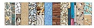 Ursus 13712299fotográfico cartón 300g/m², Aprox. 49,5x 68cm, 10Surtidos de Arco en 8Diferentes diseños