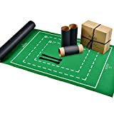 Jaques of London Puzzle Roll - Puzzle Mat With Foldable Cloth - Jigsaw Puzzle Roll Up Board Tubes with Easy-Catch Fastening Baize Material