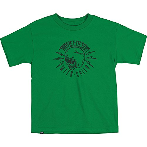 Troy Lee Designs Adult Unisex Kelly Green Wild Child Tee Shirts, Green, FR: M (Manufacturer's Size: M)