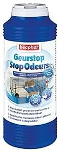 Beaphar - Stop Odeurs, granulés absorbeur d'odeurs - litière rongeur - 600 g