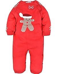 ZOEREA pull bébé fille enfant barboteuse bébé pyjamas bébé vetement costume enfant garçon chandails de Noël manches longues