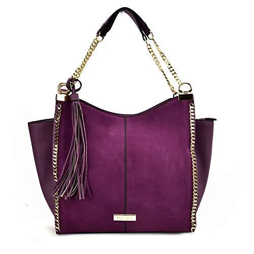 Sally Young Est. 1989, Damen Tote-Tasche Violett violett M
