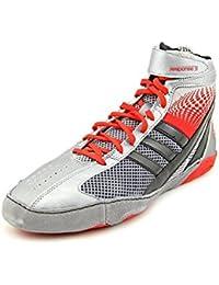 Adidas Response 3.1 Lucha Zapatos - Negro / gris / blanco / oro solar - 5
