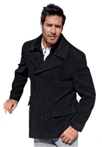 Hochwertige Winterjacke Jacke für den Herren in Schwarz Gr. 52/54