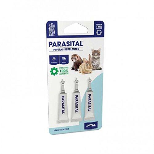 Pipetas Repelente antiparasitos para pequeños mamíferos y gatos 100%