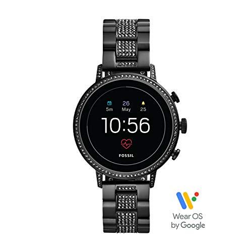 Fossil Damen-Smartwatch mit Edelstahl Armband FTW6023