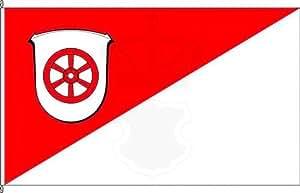 Königsbanner Hochformatflagge Johannisberg - 80 x 200cm - Flagge und Fahne